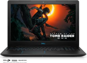 Dell Gaming Laptop G3 with 4GB GeForce GTX 1050 graphics