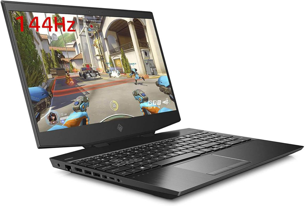 HP OMEN 15- Best i7 gaming laptop under 1500 with RTX 2060 graphics