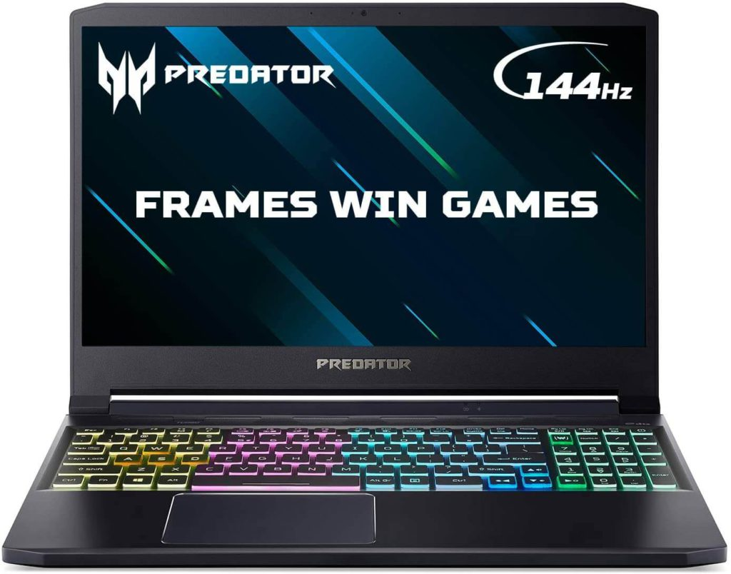 Acer Predator Triton 300 - most powerful gaming laptop under 1500