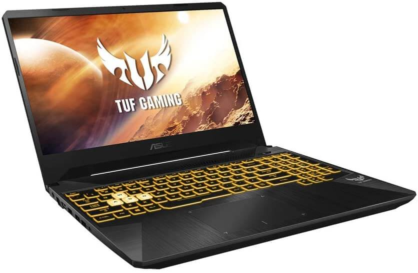 ASUS TUF FX505 budget gaming laptop under 900 with dedicated Graphics Card