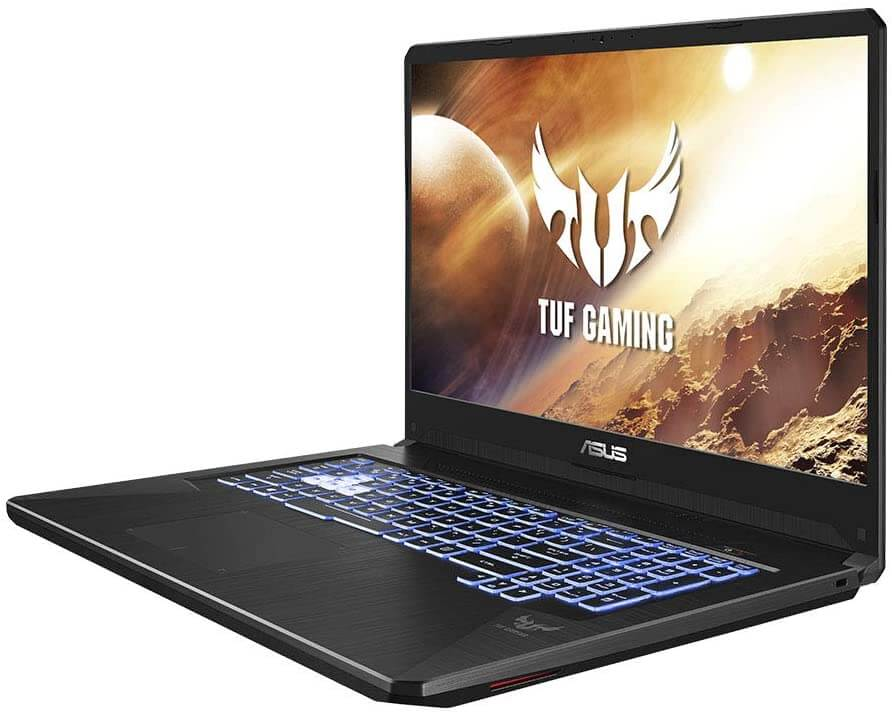 ASUS TUF FX705 17-Inch Notebook - Best AMD gaming laptop under 800 GBP with 4GB Nvidia 1650