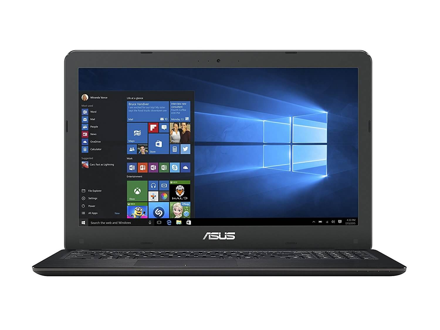 ASUS VivoBook K556UQ-DM1024T budget gaming laptop under 900 with dedicated NVIDIA GeForce GT940MX Graphics Card