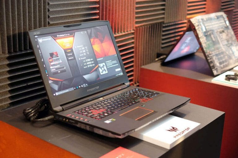 Acer Predator 17 X GTX 1080 Gaming laptop Review