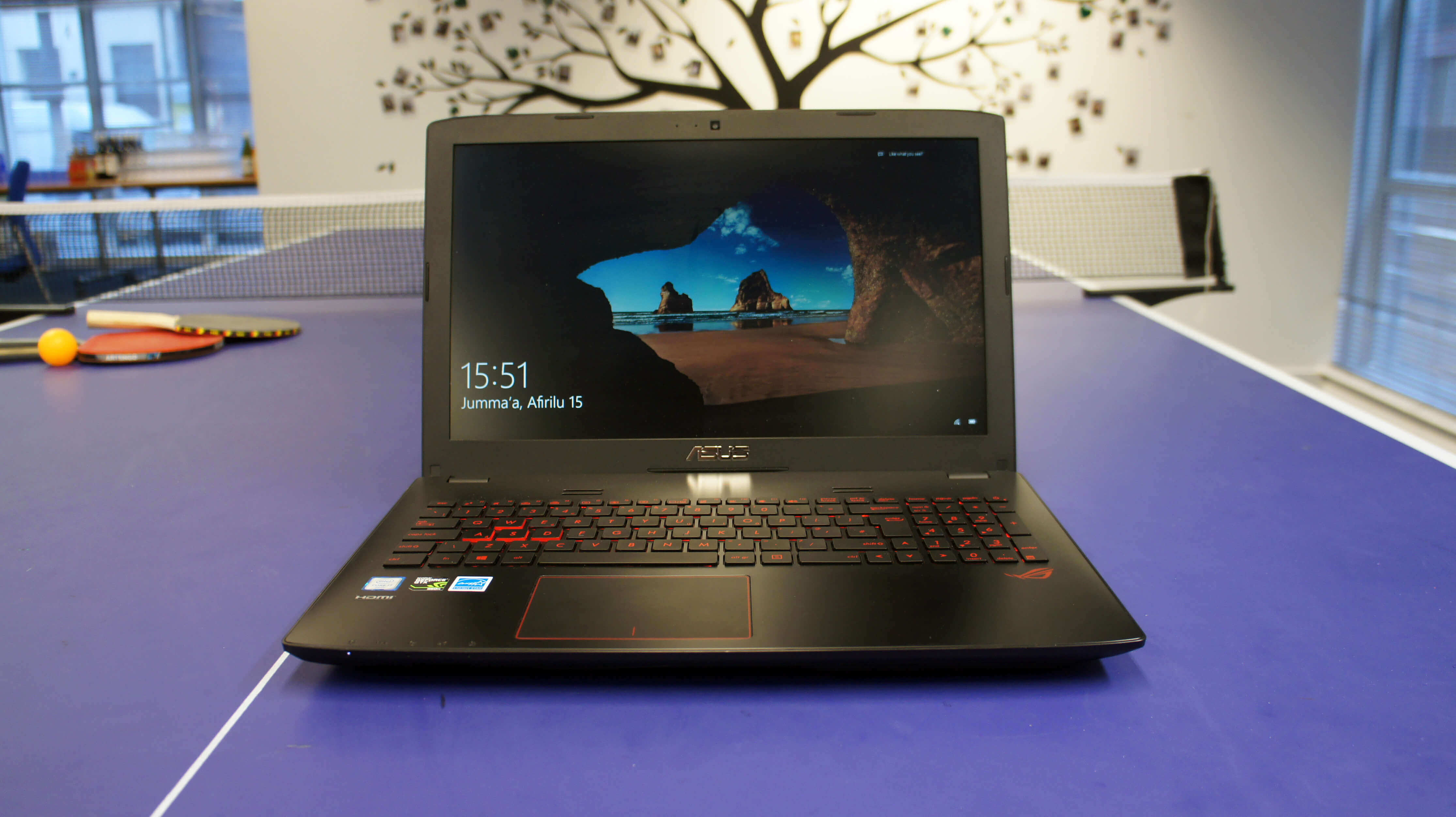 ASUS ROG GL552VW-DH74 15-Inch GTX 960m  Gaming Laptop under $1000 and under £800 GBP