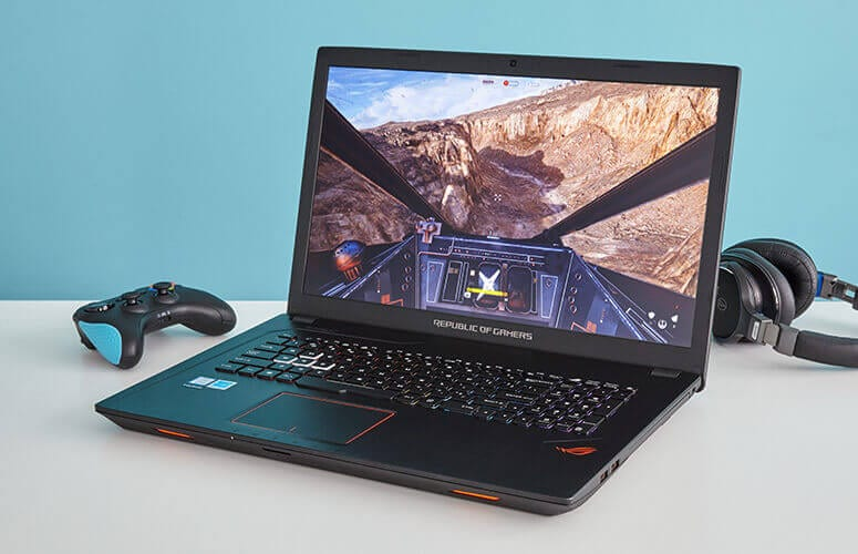 "ASUS ROG Strix GL753VD 17.3""GTX 1050 Gaming Laptop under 1000 dollars and under £800 GBP"