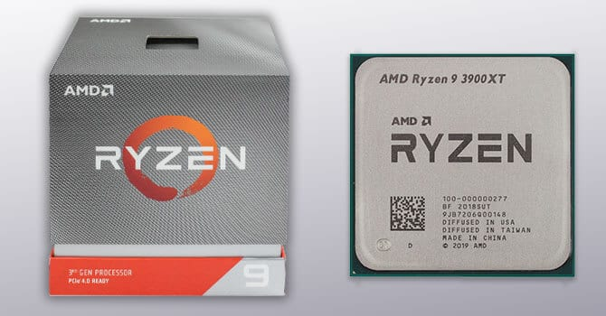 AMD Ryzen 9 3900x- best cpu for gaming from AMD