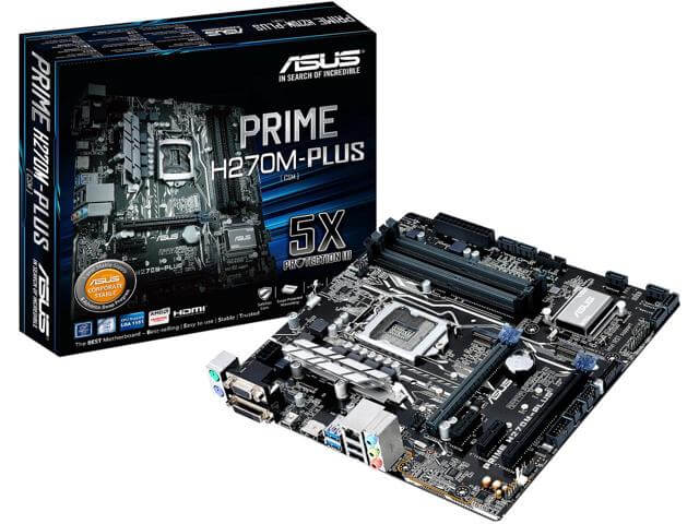 How to choose a motherboard for gaming, how to choose a motherboard 2017 ASUS PRIME H270M-PLUS