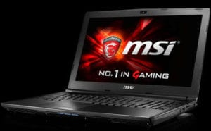 MSI GL62 7QF-1660 Cheap Gaming Laptop under 1000 - Vr ready gaming laptop under 1000 in UK