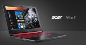 4 Acer Nitro 5 15.6-Inch Gaming Notebook - Fast SSD i5 Gaming laptop under 800 pounds UK