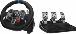 Logitech - G29 Xbox One and ps4 steering wheel with clutch and gear stick (UK) 2018 (Gaming Racing Wheel)