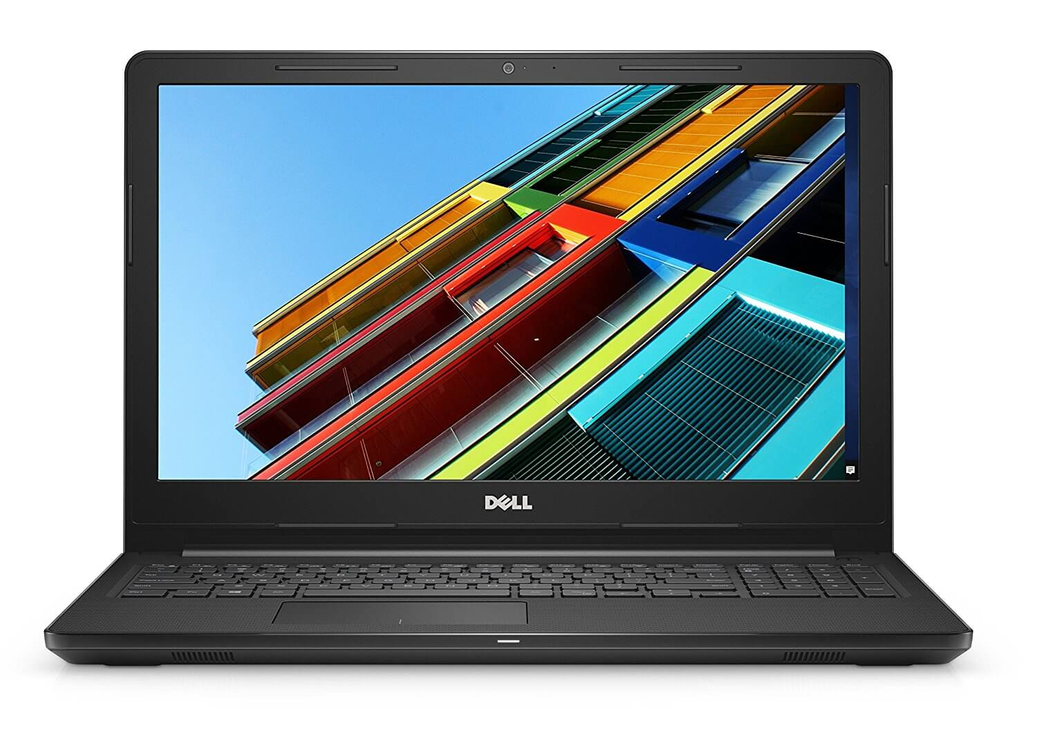 Brand Dell Item Weight 2.3 Kg Product Dimensions 38 x 26 x 2.4 cm Batteries: 1 Lithium ion batteries required. (included) Item model number 4M5GD Series Inspiron 15 3000 Color Black Form Factor Notebook Screen Size 39.6 centimetres Screen Resolution 1366 x 768 pixels Maximum Display Resolution 1366 x 768 pixels Processor Brand Intel Processor Type Core i3 Processor Speed 2 GHz Processor Count 1 RAM Size 4 GB Computer Memory Type DDR4 SDRAM Hard Drive Size 1 TB Hard Disk Technology HDD Number of USB 2.0 Ports 1 Number of USB 3.0 Ports 2 Number of HDMI Ports 1 Optical Drive Type DVD/RW Operating System Windows 10