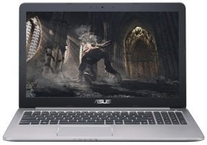 2. Best laptop for gaming and music production- ASUS K501UW-AB78 Gaming Laptop