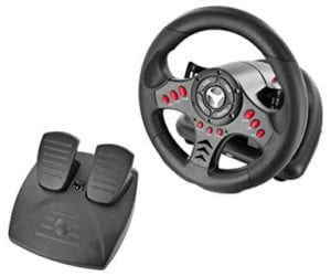 3 Subsonic Universal Racing Wheel with Pedals (PS4/Slim/Pro/Xbox One/S/PS3)