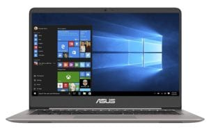 3. (£521) ASUS UX410UA-GV158T ZenBook under £550 - £600 in 2018 with 128GB SSD and windows 10
