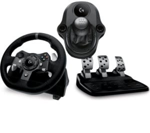 Xbox One and ps4 steering wheel with clutch and gear stick (UK) 2018 (Gaming Racing Wheel)LOGITECH Driving Force G920 Wheel