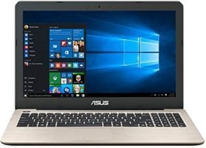4. Best laptop for djing and music production- ASUS F556UA-AS54 FHD Laptop