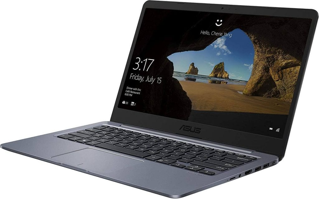 Best budget laptop under 300 with microsoft office: ASUS E406MA