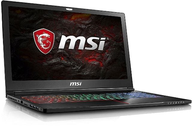 MSI GS63VR 7RF Stealth Pro-237UK Review 2018 under £1500: GTX 1060, SSD