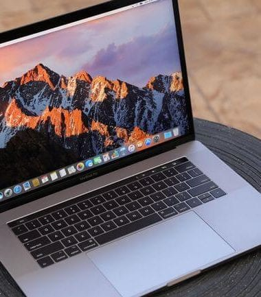 1 (£1,939) Apple Macbook Pro with touch panel: apple best laptop for photo video editing 2018 uk