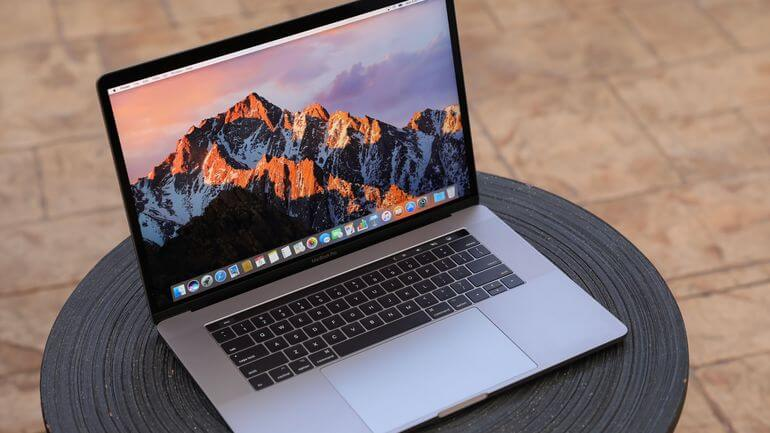 1 (£1,939) Apple Macbook Pro with touch panel: applebest laptop for photo video editing 2018 uk