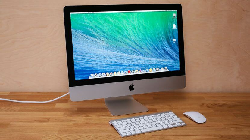 1 iMac 21.5 best Mac desktop for video and photo editing uk