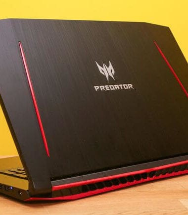 4. (£999) Acer Predator Helios 300 Geforce Gtx 1060 best laptop for video editing under£1000