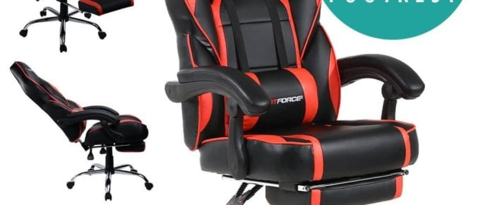Best pc gaming chair Under  £100 – £150 uk 2018: Recommended Budget comfortable gaming chair