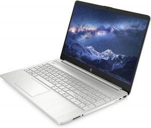 HP 15s best laptop for photo editing under £500