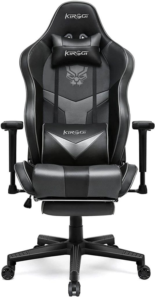 Kirogi pc Gaming Chair with footrest under 200