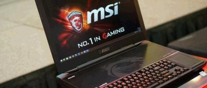 Gaming Laptop UK MSI GT73VR TITAN SLI, Titan Pro Review Specs 2018
