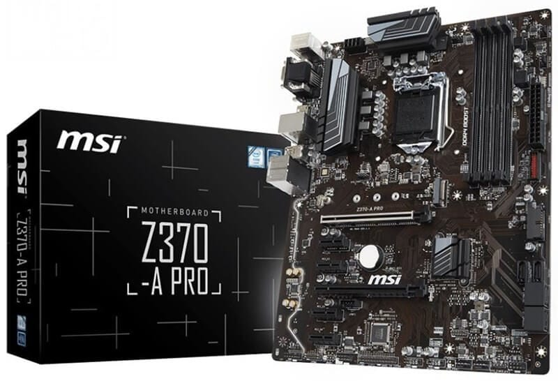 2 msi z370 pro motherboard How to make your own gaming pc 2019-2020 guide