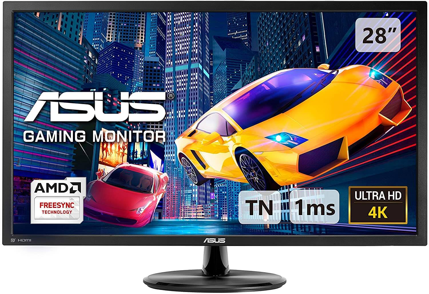 ASUS VP28UQG gaming monitor review