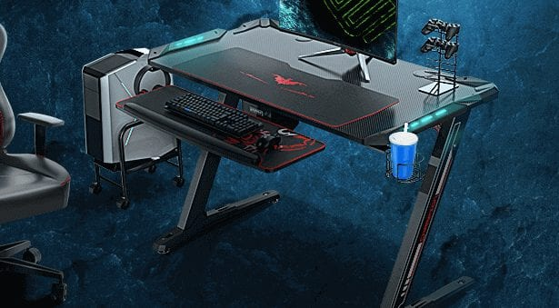 EUREKA ERGONOMIC Z1S Best gaming desk in 2020