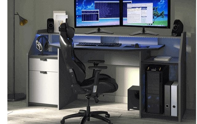Parisot of France Gaming Desk Workstation Best for pro gamers