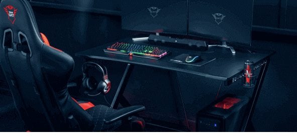 Trust GXT 711 Best selling console gaming desk