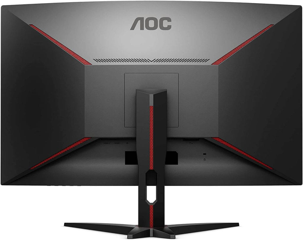 AOC C32G1 32 inch curved gaming monitor review