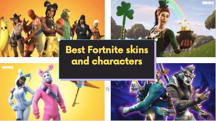1 Best Fortnite skins and characters