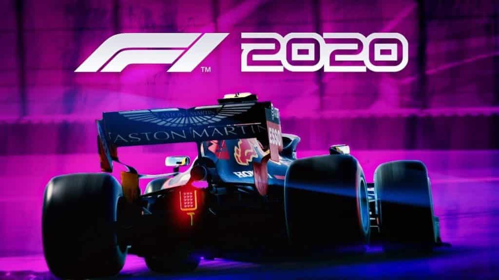 F1 2020 ps4 car racing game
