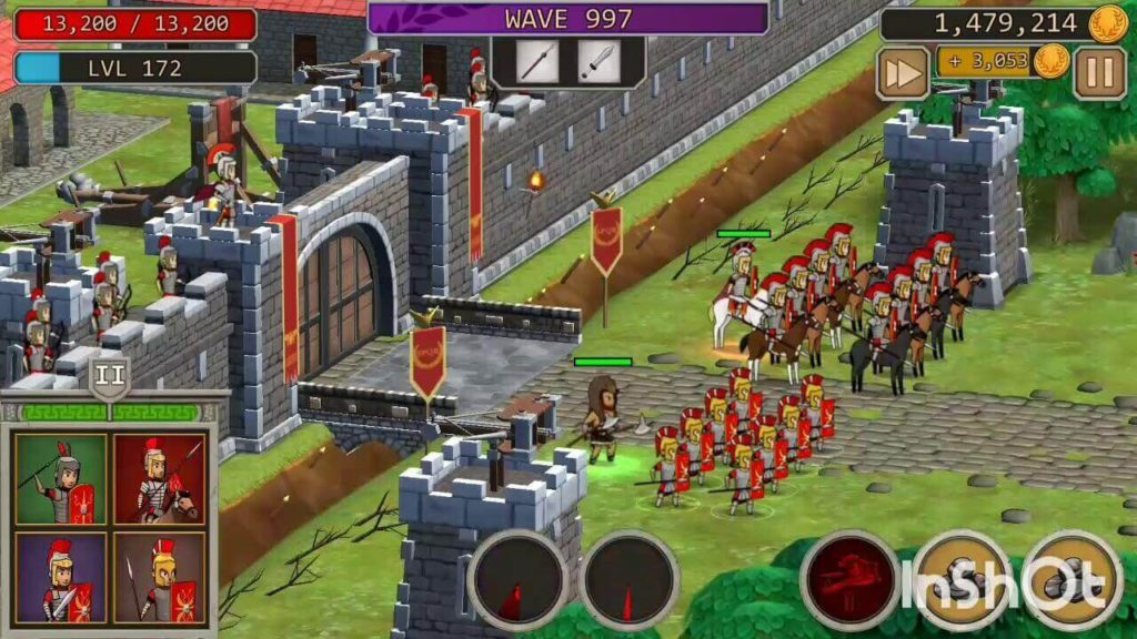 Grow empire rome real-time strategy game for iphone and android