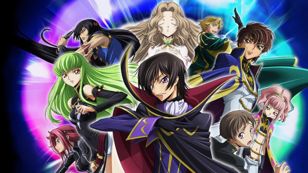 Code Geass- Lelouch of the Rebellion good anime series