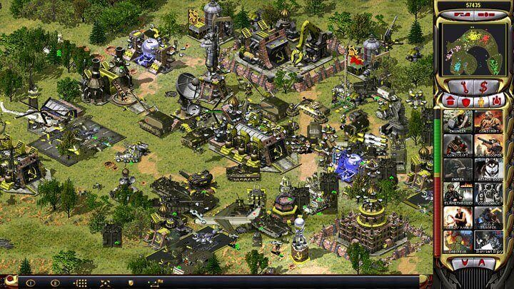 COMMAND & CONQUER- RED ALERT 2 classic war strategy game