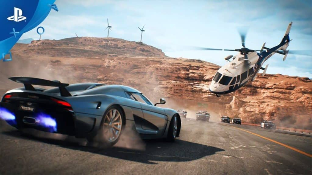 Need for Speed PS4 racing game for Playstation