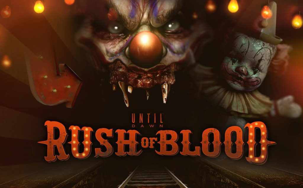10 Until Dawn- Rush of Blood horror PS4 VR game