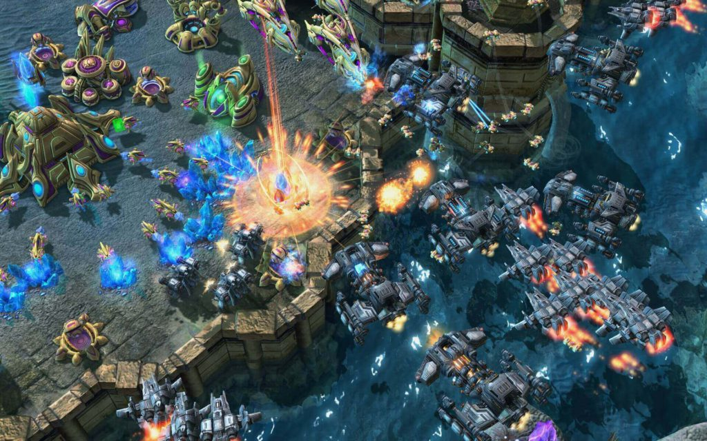 STARCRAFT II - Wings of Liberty best strategy sci-fi war game for pc
