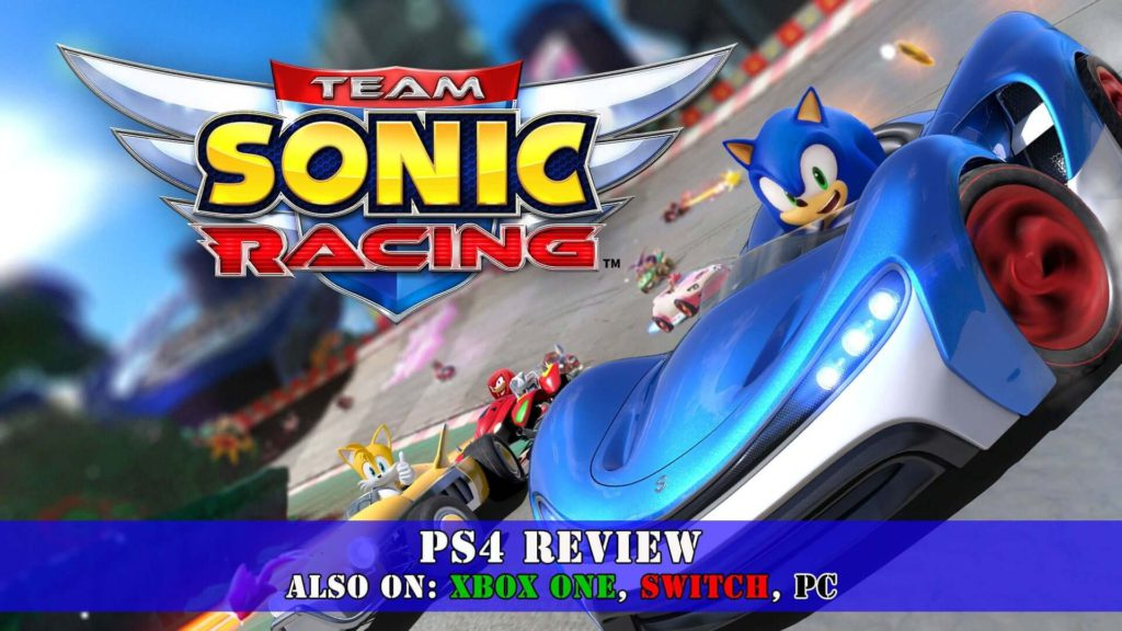 Team Sonic Racing ps4 best Kart-based racing game