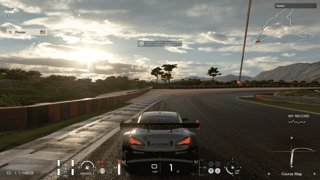 GT Sport 4k racing game for PS4
