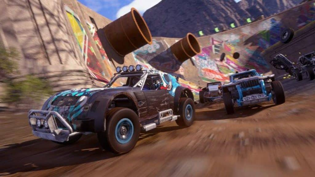 Onrush best arcade racing game for PS4