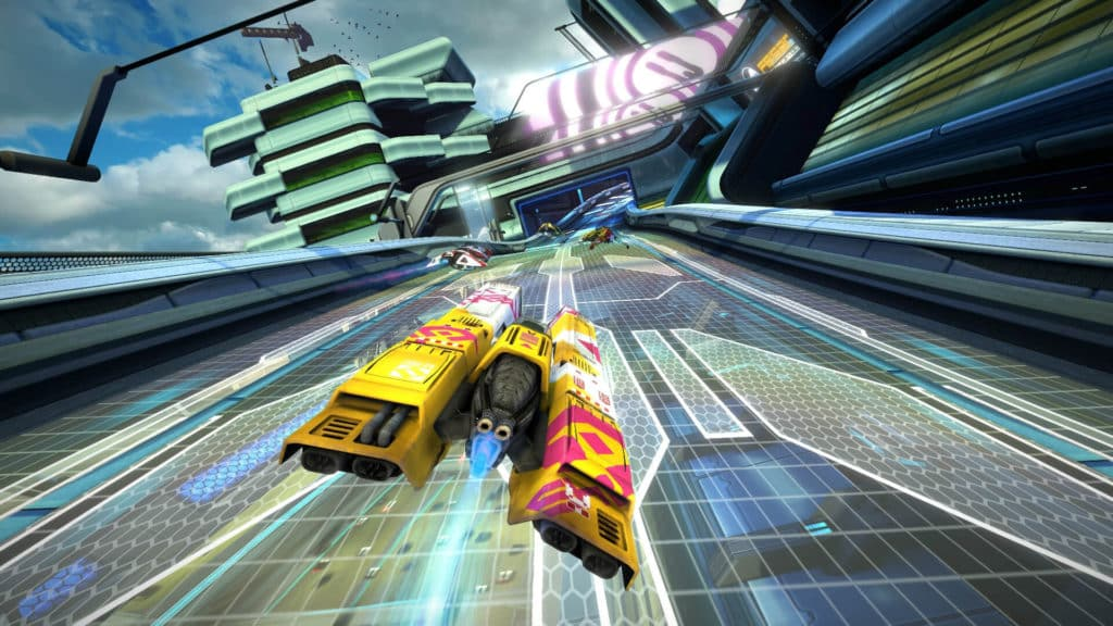 WipeOut Omega Collection best 3D VR dog fight scifi game