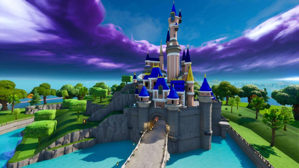 2 DISNEY CASTLE GAME - Fortnite Creative Map Codes