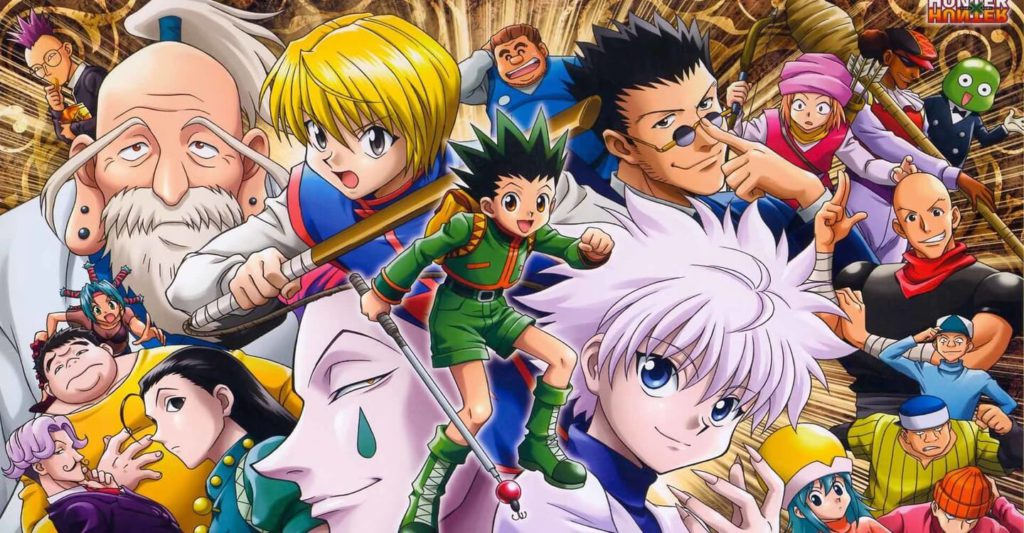 2. Hunter x Hunter (2011) excellent anime serie to watch
